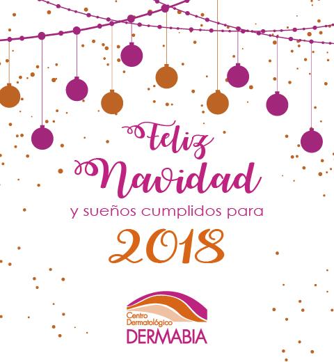 Dermabia les desea Feliz Navidad y 2018